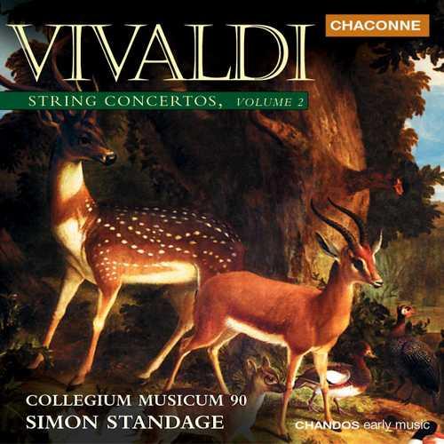 Standage: Vivaldi - String Concertos vol.2 (24/96 FLAC)