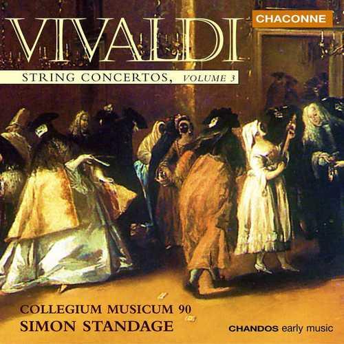 Standage: Vivaldi - String Concertos vol.3 (24/96 FLAC)