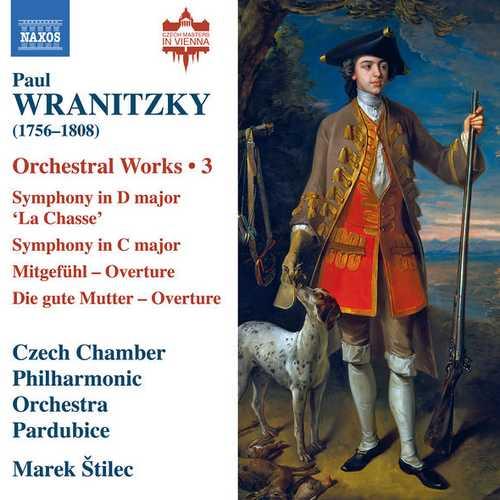 Štilec: Wranitzky - Orchestral Works vol.3 (24/96 FLAC)