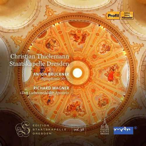 Thielemann: Bruckner - Symphony no.7; Wagner - Das Liebesmahl der Apostel (FLAC)