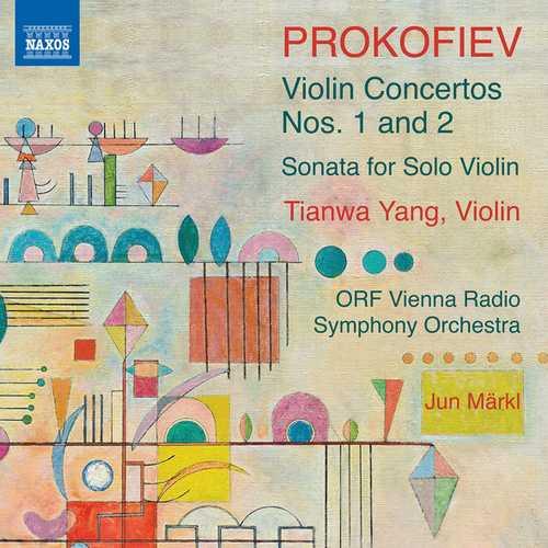 Tianwa Yang: Prokofiev - Violin Concertos no.1 and 2, Sonata for Solo Violin (24/96 FLAC)