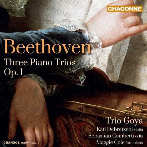 Trio Goya: Beethoven - Three Piano Trios op.1 (24/96 FLAC)
