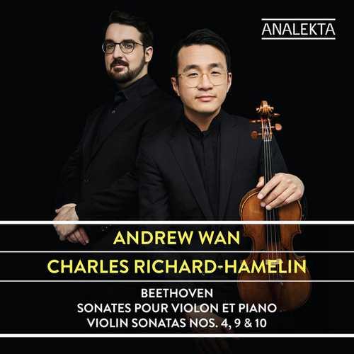 Wan, Richard-Hamelin: Beethoven - Violin Sonatas no.4, 9 & 10 (24/192 FLAC)